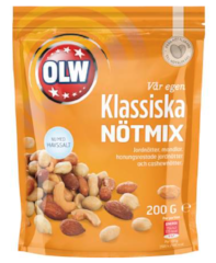 Mixed nuts with sea salt CLASSIC 200g