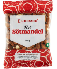 Whole almonds ELDORADO 200g