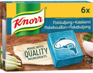 Fish stock KNORR 6p/3litres