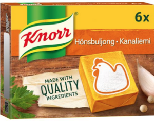 Chicken stock KNORR 6p/3litres