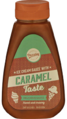 Caramel ice cream sauce 250g