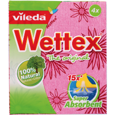 WETTEX Sponge Cloth 4pcs