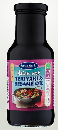 Teriyaki & Sesame Oil Santa Maria 250ml