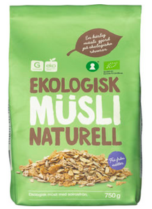 Müsli Plain Ecological