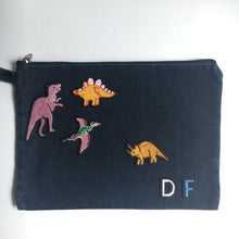 denim pouch  - design your own bag!