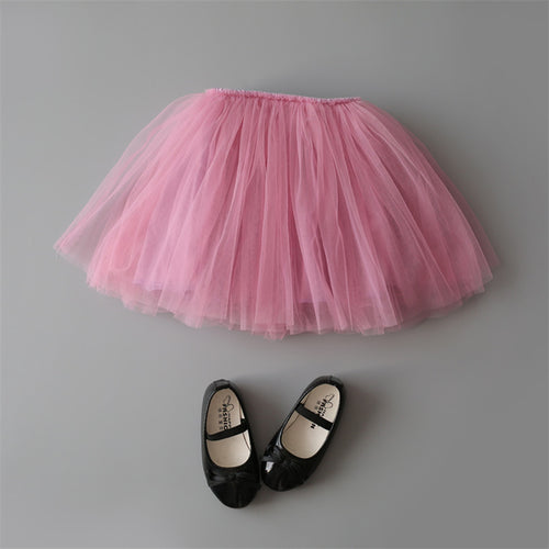 Princess Tulle Party Skirts - Pink