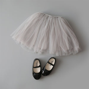 Princess Tulle Party Skirts - Grey