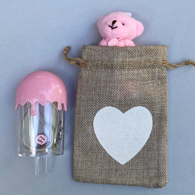 love pouch / ice cream container