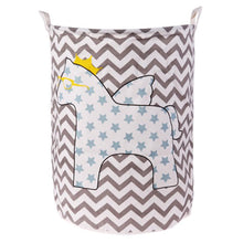 Large Storage Baskets - Horse with Blue Stars