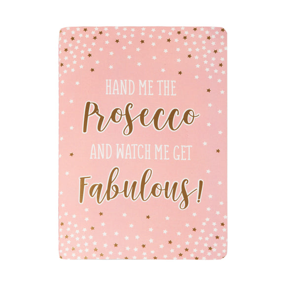 Quaderno A5 Fabulous Prosecco Party