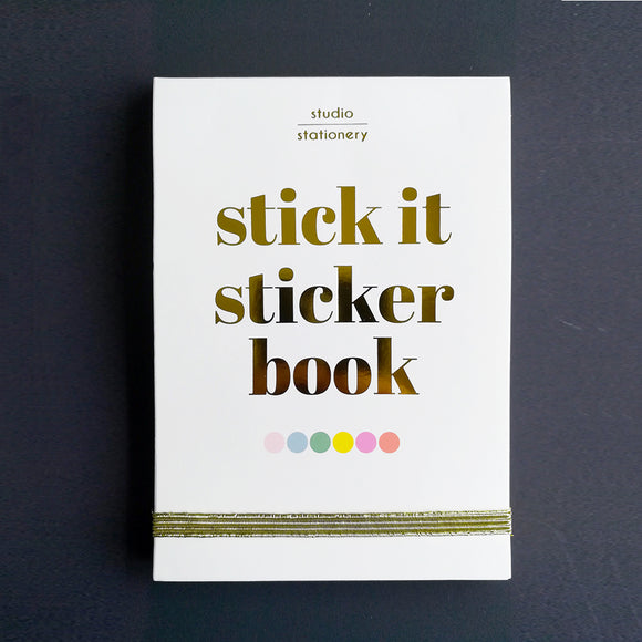 Stickerbook - Un libro di adesivi