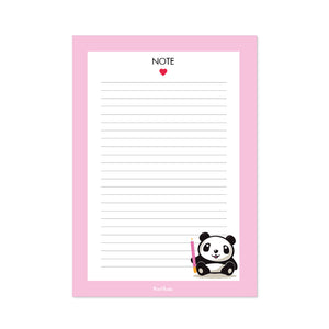 Block notes A5 Pencil Panda