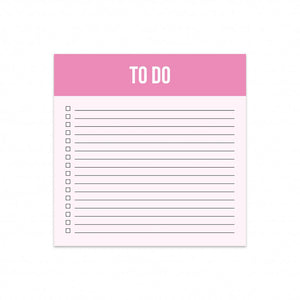 "Block notes ""To do"""