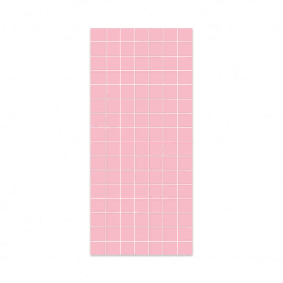 Post-it a quadretti rosa