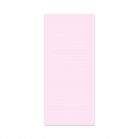 Post-it a righe rosa