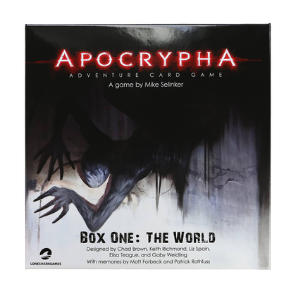 Apocrypha Adventure Card Game: The World
