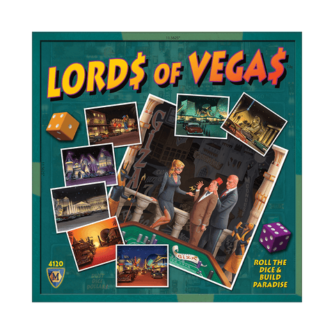 Lords of Vegas Base Game