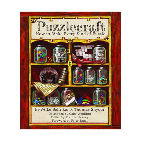 Puzzlecraft: How to Make Every Kind of Puzzle (Softcover + PDF)