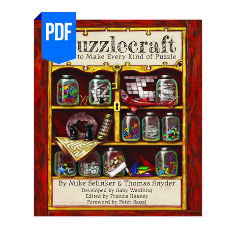 Puzzlecraft: How to Make Every Kind of Puzzle (PDF)