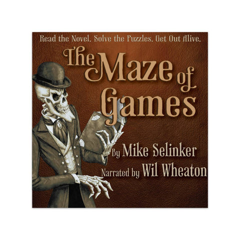 The Maze of Games Audiobook Narrated by Wil Wheaton