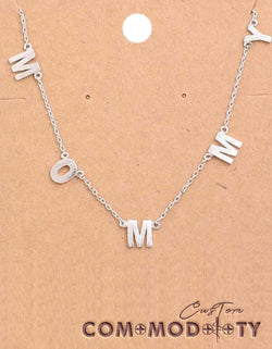 Mommy Necklace - Custom Commodity