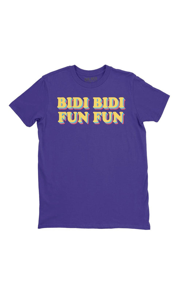 "Selena T-Shirt ""Bidi Bidi Fun Fun"" - Custom Commodity"