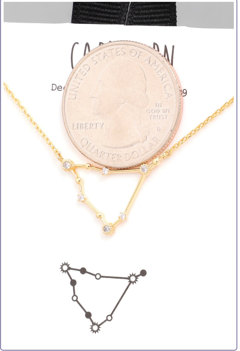 Capricorn Zodiac  Constellation Necklace - Custom Commodity