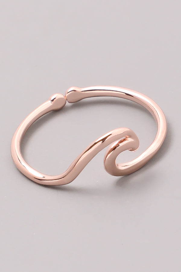 Wave Cutout Ring. - Custom Commodity