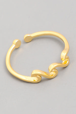 Delicate Wavy Ring - Custom Commodity