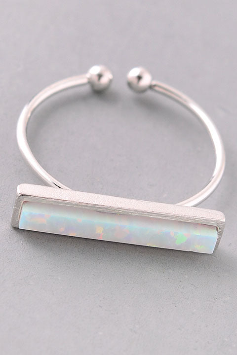 Holographic Bar Ring. - Custom Commodity