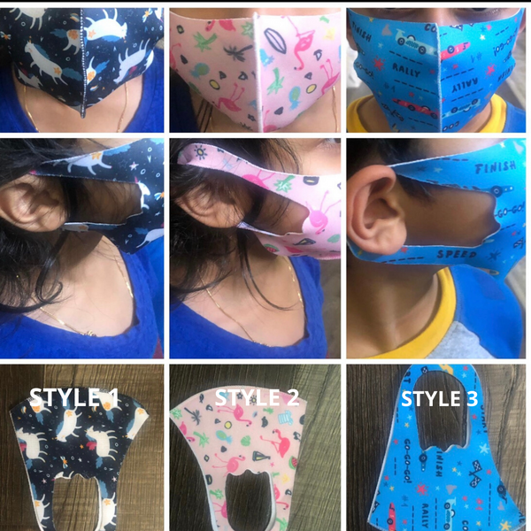 Kids Face Mask Handmade - Custom Commodity