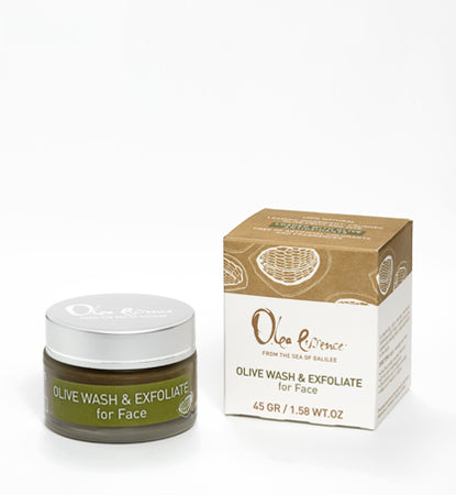 Olive Wash & Exfoliate for Face 45gr
