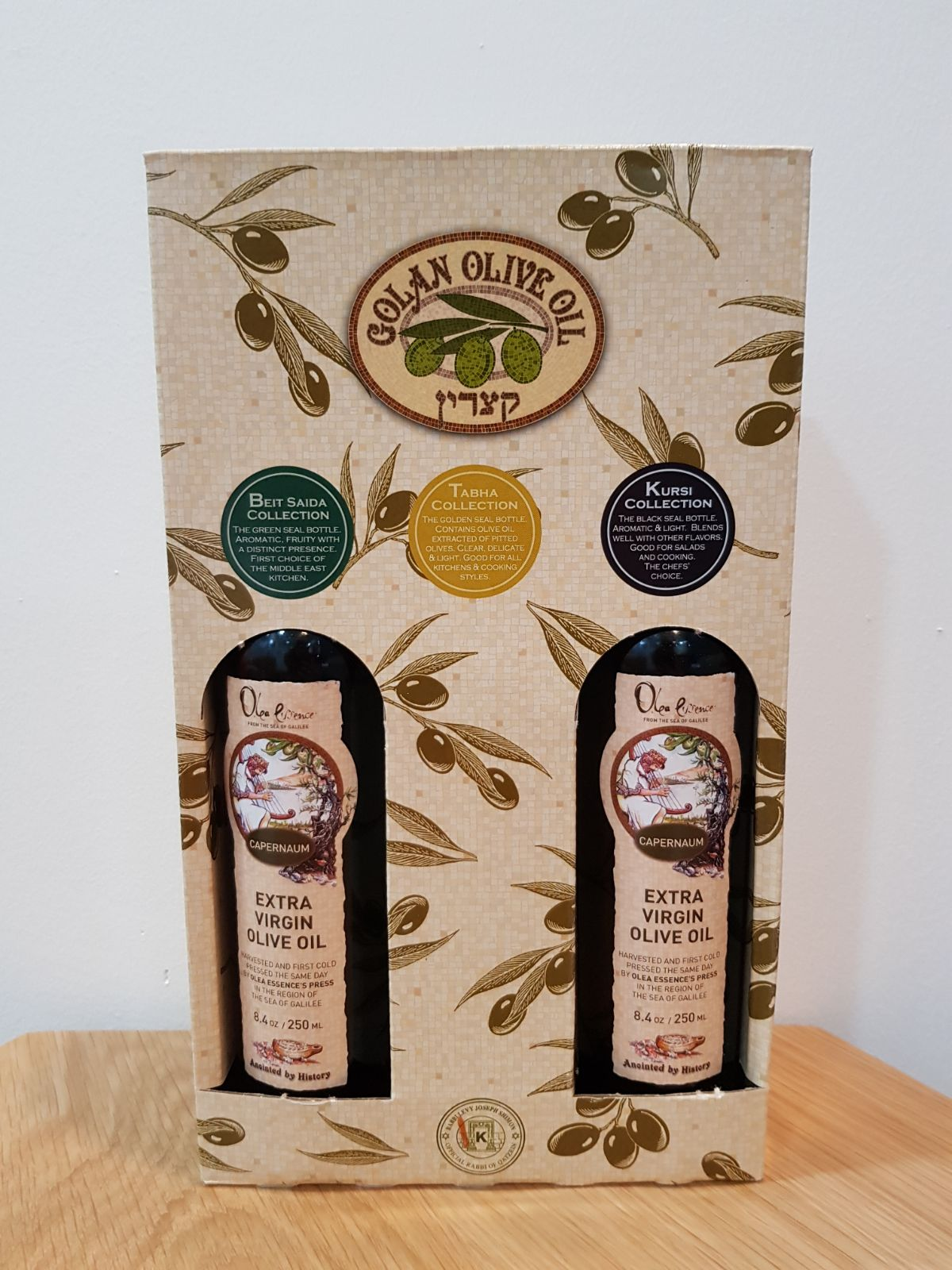 Olea Essence Olive Oil The Happy Triple Gift Pack (3 x 250ml)