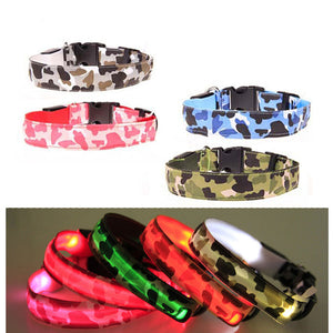 Camouflage LED Collar