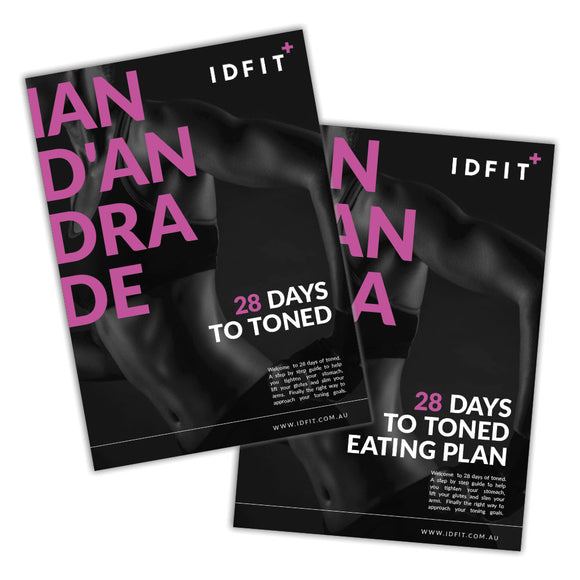 28 Days to Toned, Meal Plan + Workout Plan