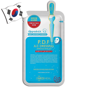 MEDIHEAL P.D.F A.C Dressing Ampoule Face Mask Ex. Upgrade EX. X3 - Yes! You Beauty