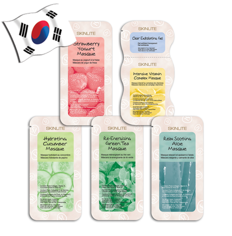 SKINLITE Wash-off Travel Size Face Masks