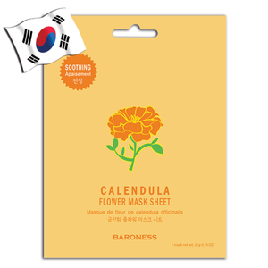 BARONESS Calendula Flower Face Mask - Yes! You Beauty