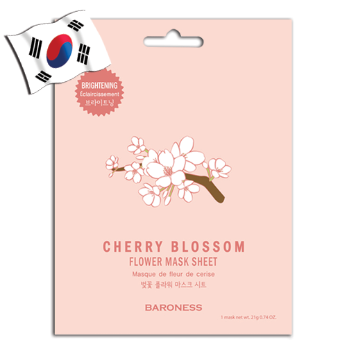 BARONESS Cherry Blossom Flower Face Mask - Yes! You Beauty