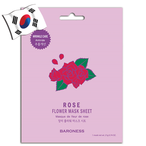 BARONESS Rose Flower Face Mask - Yes! You Beauty