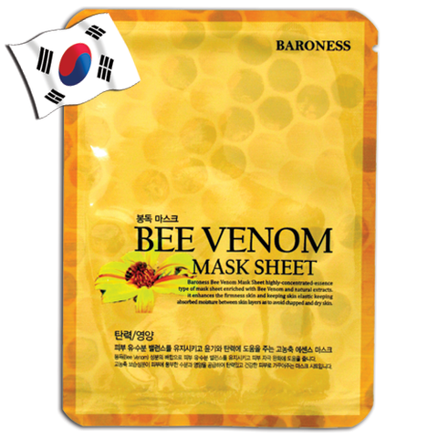BARONESS Bee Venom Extract Face Mask