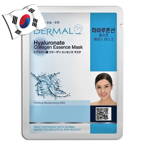 DERMAL Hyaluronate Collagen Essence Face Mask - Yes! You Beauty