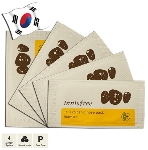 INNISFREE Jeju Volcanic Nose Pack 5 sheets - Yes! You Beauty