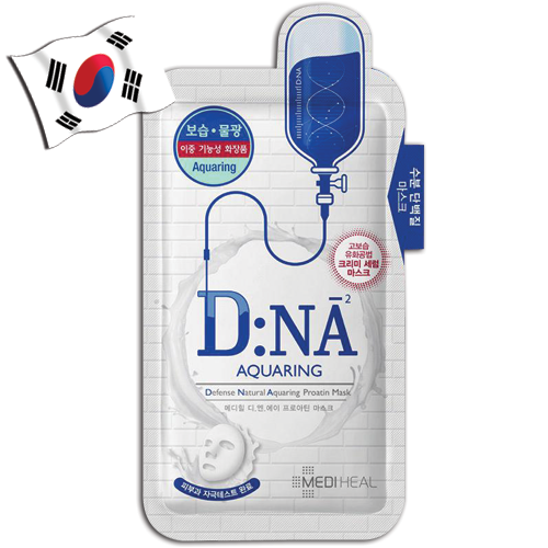 MEDIHEAL DNA Proatin Hydrating Face Mask Aquaring - Yes! You Beauty