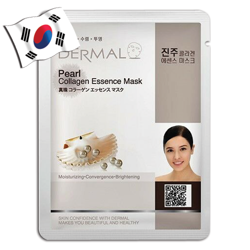DERMAL Pearl Collagen Essence Face Mask - Yes! You Beauty