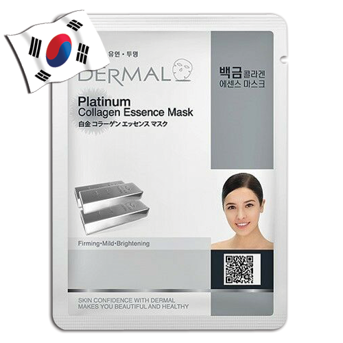DERMAL Platinum Collagen Essence Face Mask - Yes! You Beauty