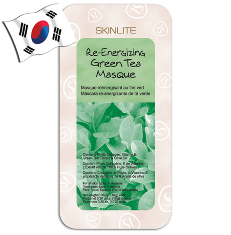 SKINLITE Re-Energising Green Tea Wash-off Face Mask - Yes! You Beauty