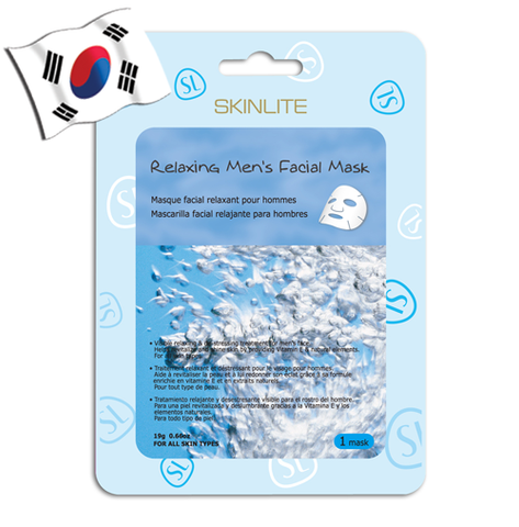 SKINLITE Relaxing Mens's Face Mask