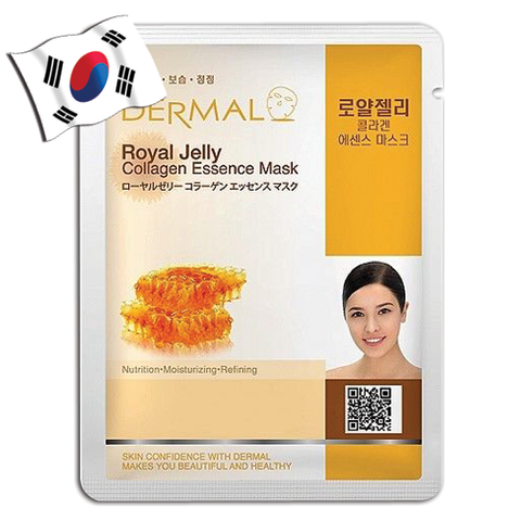 DERMAL Royal jelly Collagen Essence Face Mask - Yes! You Beauty