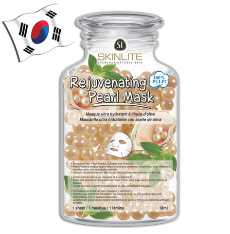 SKINLITE Rejuvenating Pearl Face Mask (Bottle Shaped) - Yes! You Beauty